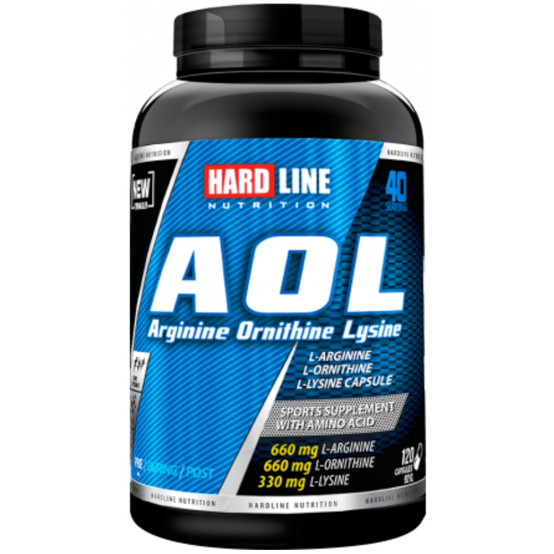 Hardline AOL Amino Asit 120 Kapsül